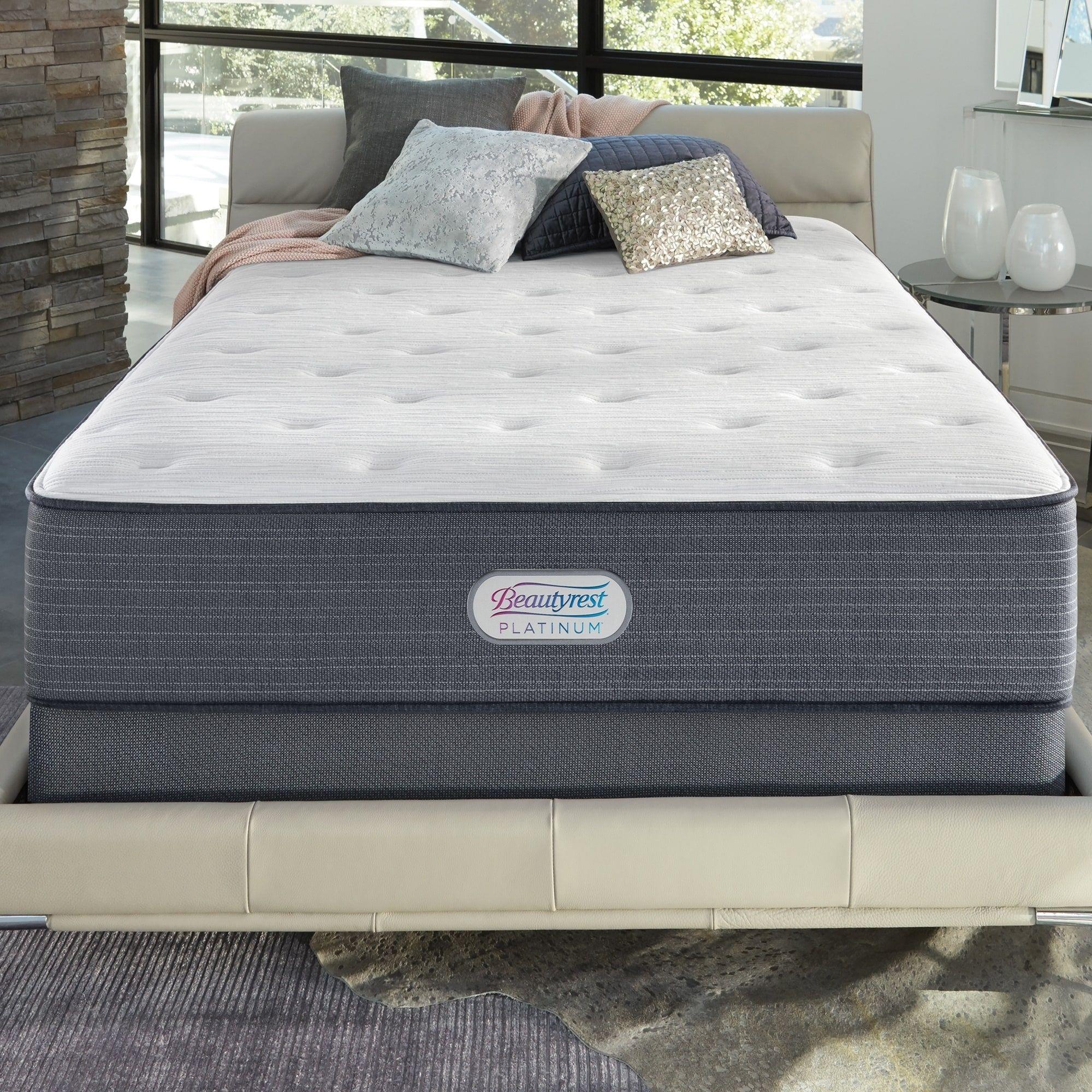 Beautyrest Platinum Spring Grove 14 Inch Luxury Firm Mattress Set