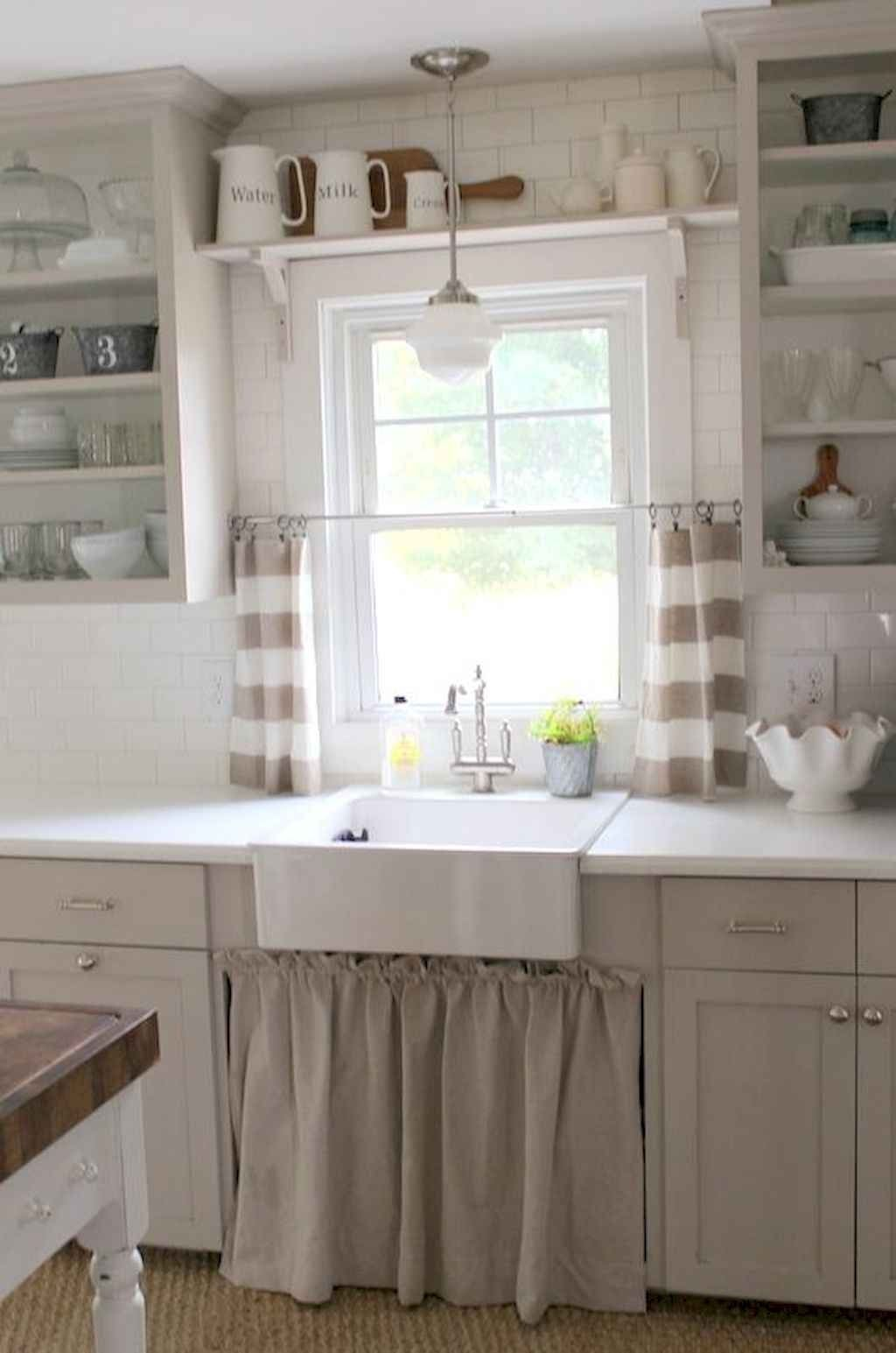 70 Pretty Farmhouse Kitchen Curtains Decor Ideas 68 farmhouse #70 #pretty #farmhouse #kitchen #curtains #decor #ideas #68