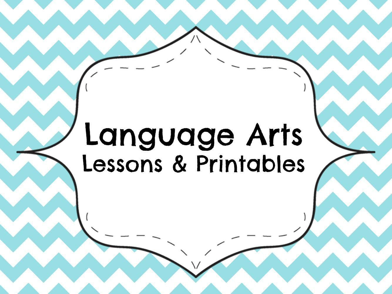 Language Arts And Literacy Worksheets Printables Lesson