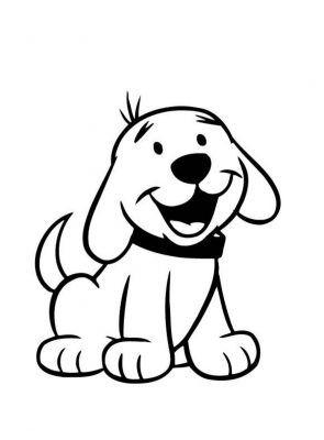 imagenes de perritos para colorear para descargar | baberos