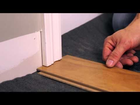 Rona How To Install A Floating Floor Youtube Diy Home