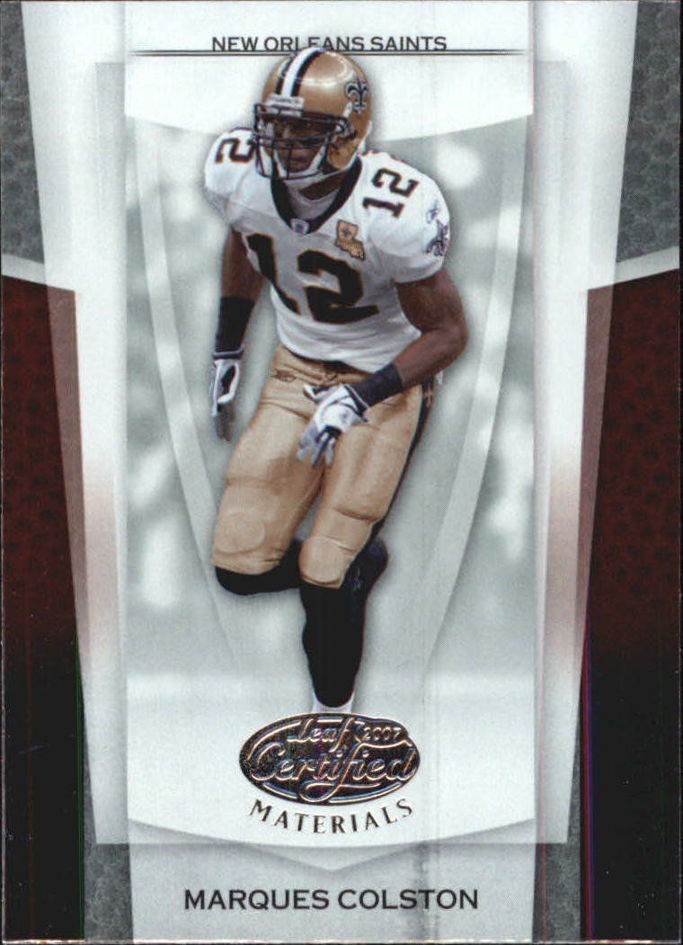 2007 Leaf Certified Materials Football 49 Marques Colston - New Orleans Saints *** This is an Amazon Affiliate link. See this great product.
