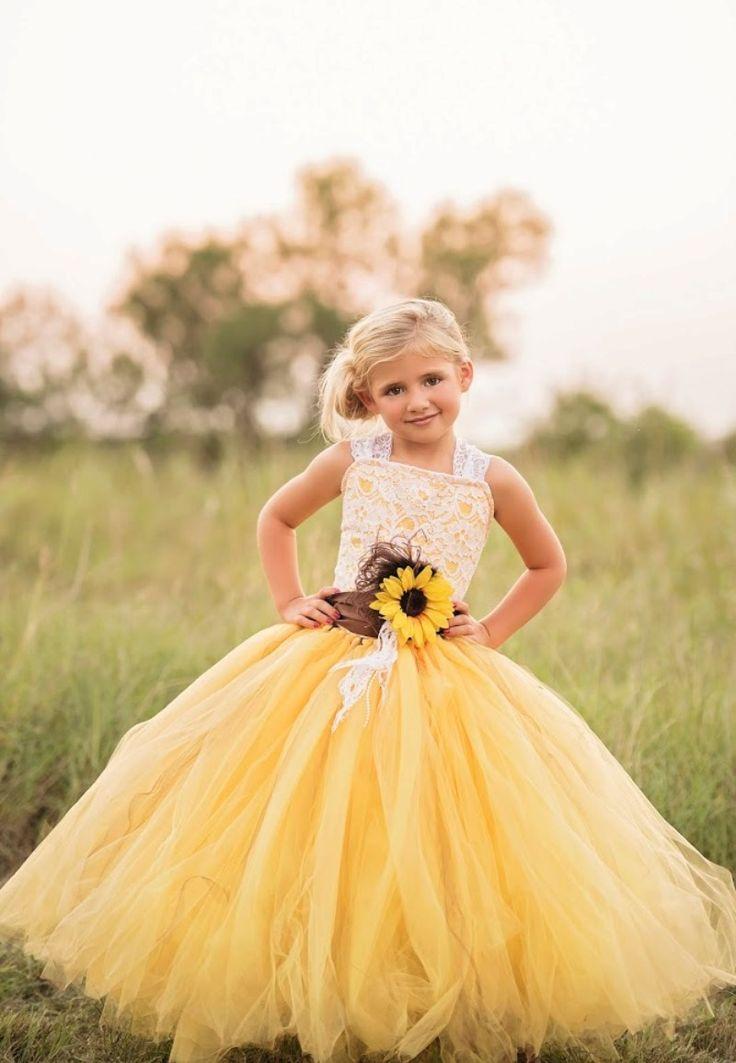 Baby 2b weddings pinterest sunflower dress sunflower flower and flower girl love see more here httpsetsylisting463806238yellow sunflower dress yellow dress lacegasearchquerysunflowerref mightylinksfo