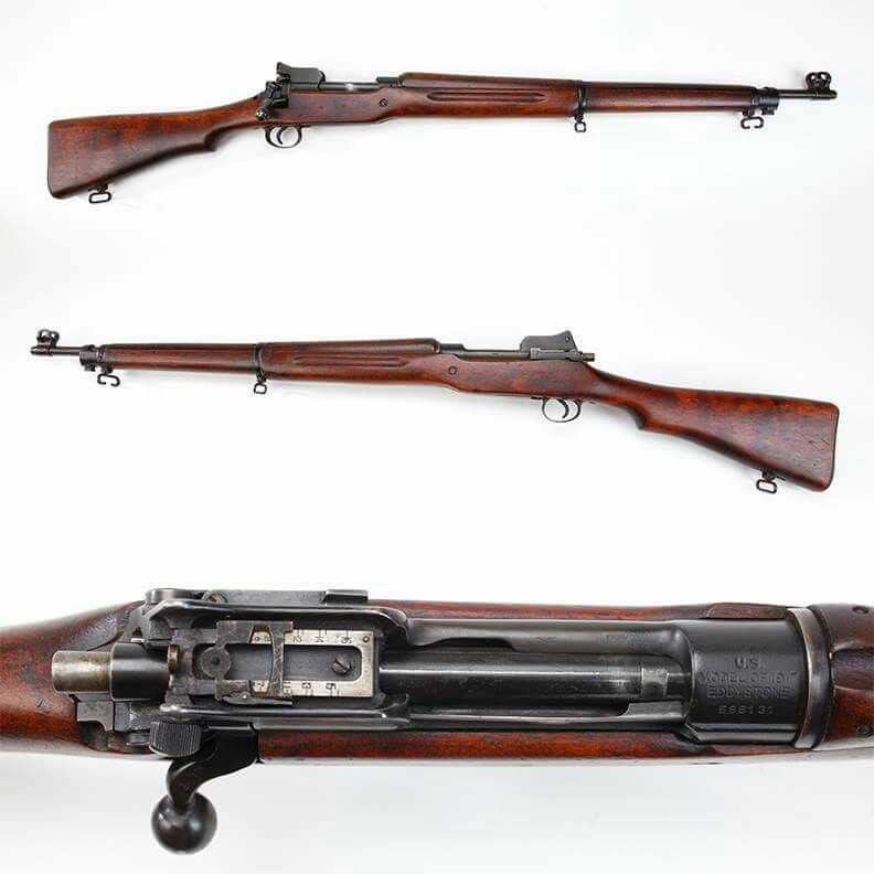 Gun Of The Day Eddystone Model 1917 Rifle As America Joined In The First World