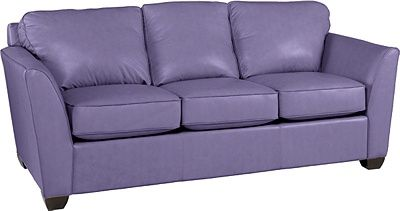 Metro Supreme Comfort Queen Sleeper By La Z Boy Lilac Leather Sofa Couch Set Couch