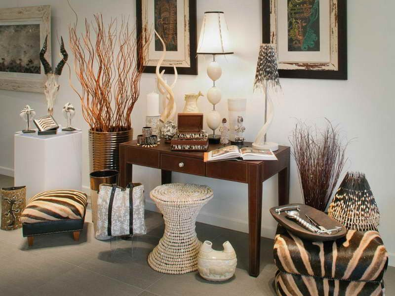 Beautiful safari african decorating ideas african case for Jungle living room ideas
