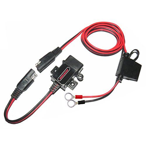 Motopower 0609a 31amp Waterproof Motorcycle Usb Charger Kit Sae To Usb Adapter For More Information Visit Image Link Usb Chargers Phone Charger Tablet Gps