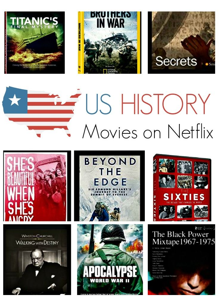The Best Us History Movies On Netflix With Images Us History