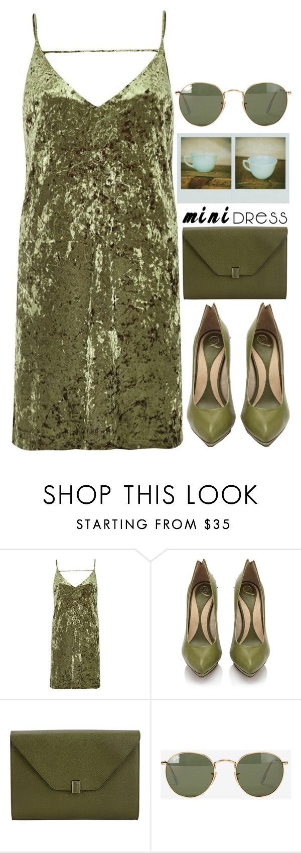 """""""4618"""" by tiffanyelinor ❤ liked on Polyvore featuring River Island, McQ by Alexander McQueen, Valextra and Ray-Ban"""