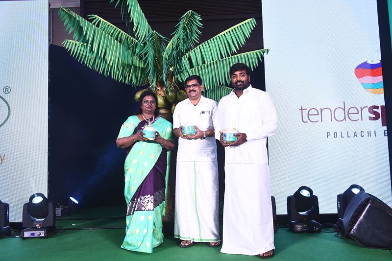 Actor Vijay Sethupathi launches Tender Springz Coconut Water– a new age nutrition- rich cold drink by Sowkea Agro