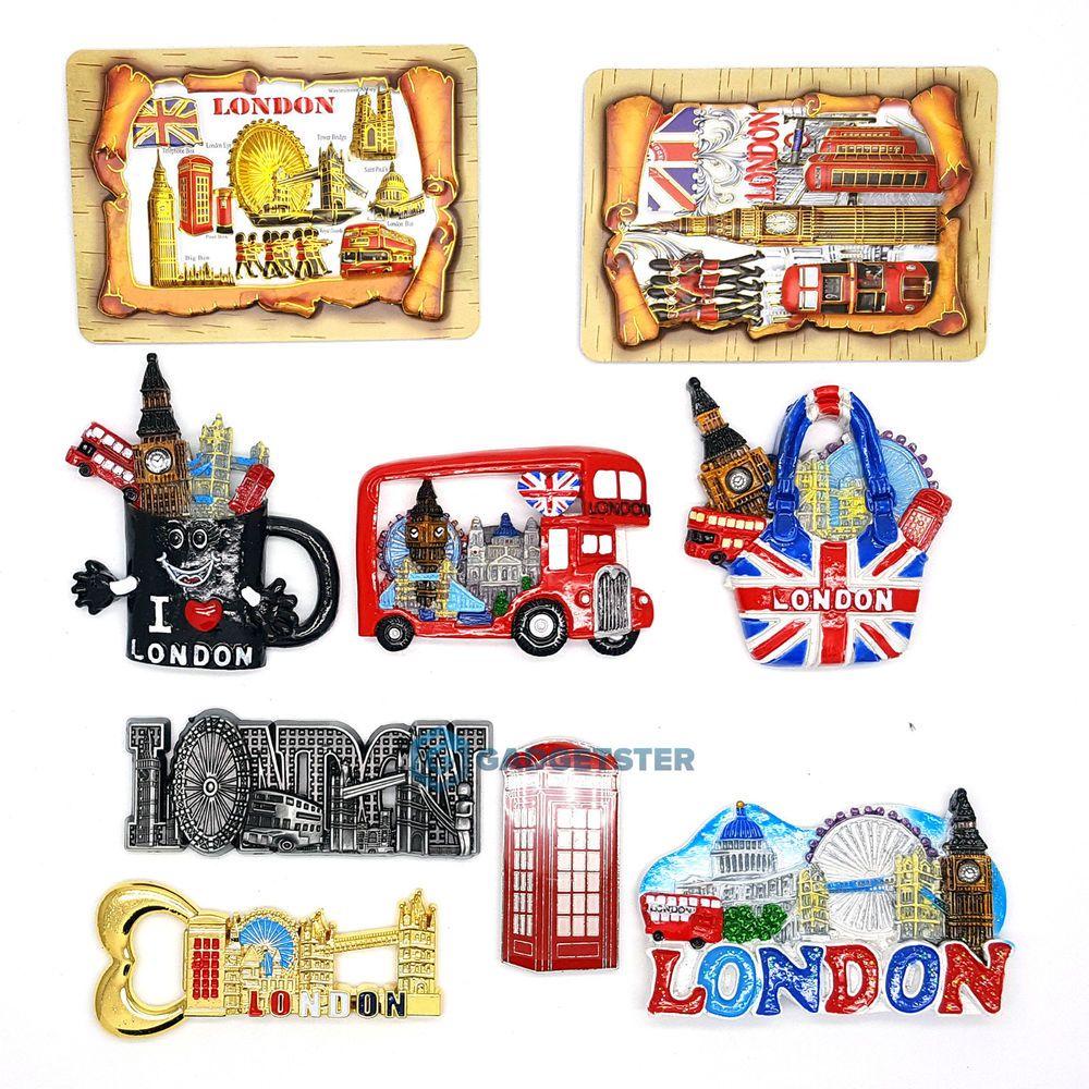 Top Selling UK London Fridge Ceramic Metallic Mix