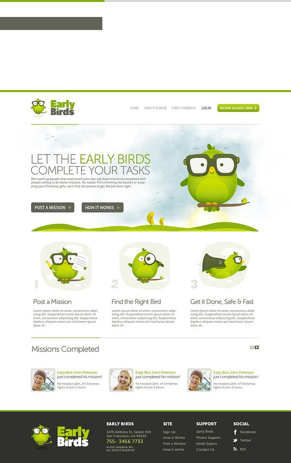 Early Birds Web