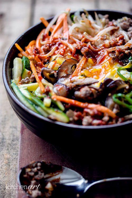 Bibimbap (Korean Mixed Rice)   Kitchen Art Store And Studio