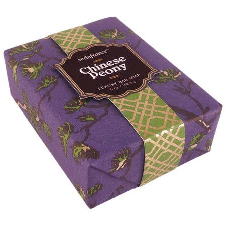 Jardin Soap Bar in Chinese Peony
