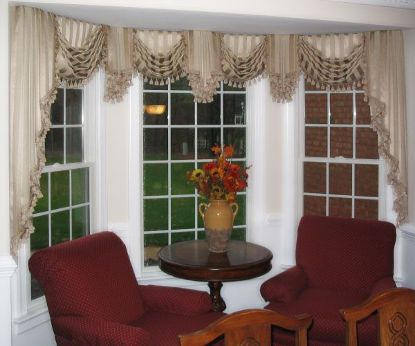 Cascade Jabot Window Treatments Decorate Your Windows With