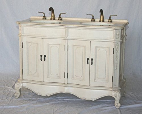50 Inch Antique Style Double Sink Bathroom Vanity Model 5000 261