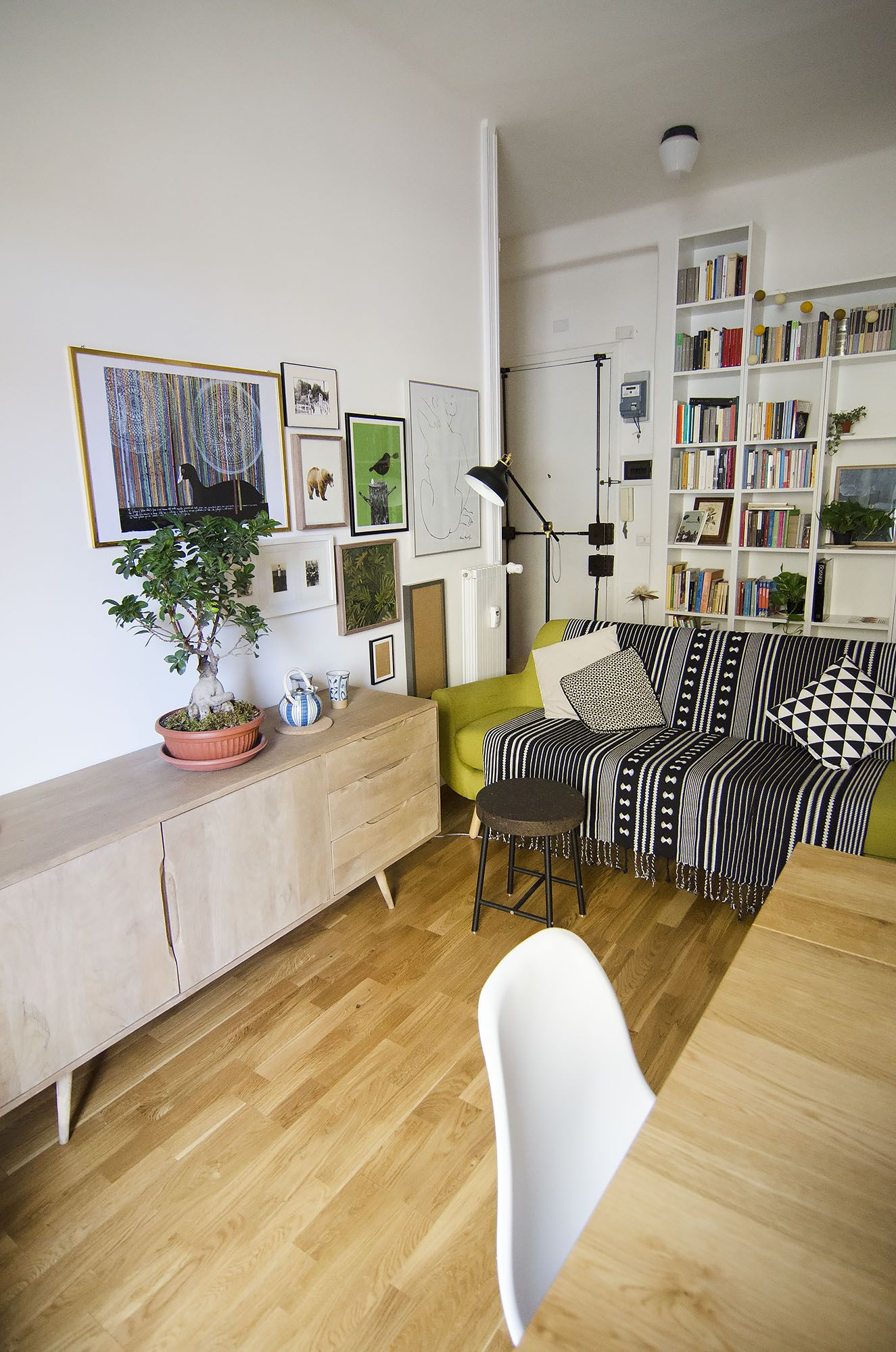 My home living room in Rome, Italy. Jonah sofa by Made.com, Mockelby ...