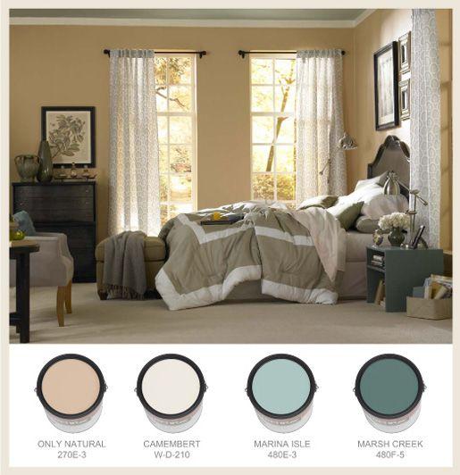 Restful Bedrooms Restful Bedrooms Behr Paint Colors Bedroom Master Bedroom Colors Bedroom paint ideas behr