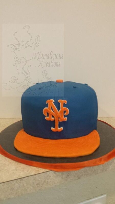 My Mets Hat Cake Adult Birthday Cakes Photos