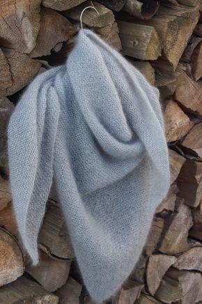 Photo of Dreieckiger Schal stricken – leicht und weich wie eine Wolke, der Himmel   Meine fabelhafte Welt