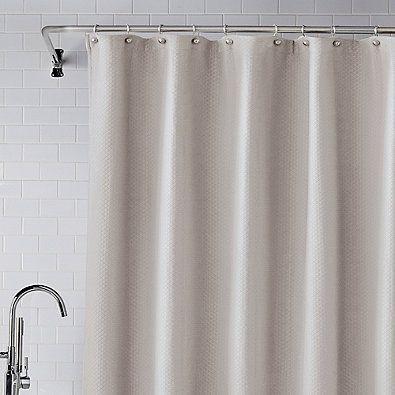 Wamsutta Diamond Matelasse Shower Curtain Curtains Wamsutta