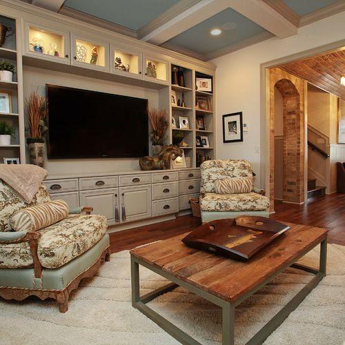 Home Entertainment Design Ideas: Built In Entertainment Center Home Design Ideas, Pictures