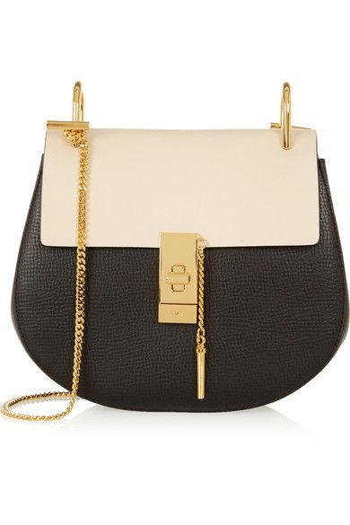 Chloé - Drew medium textured-leather shoulder bag