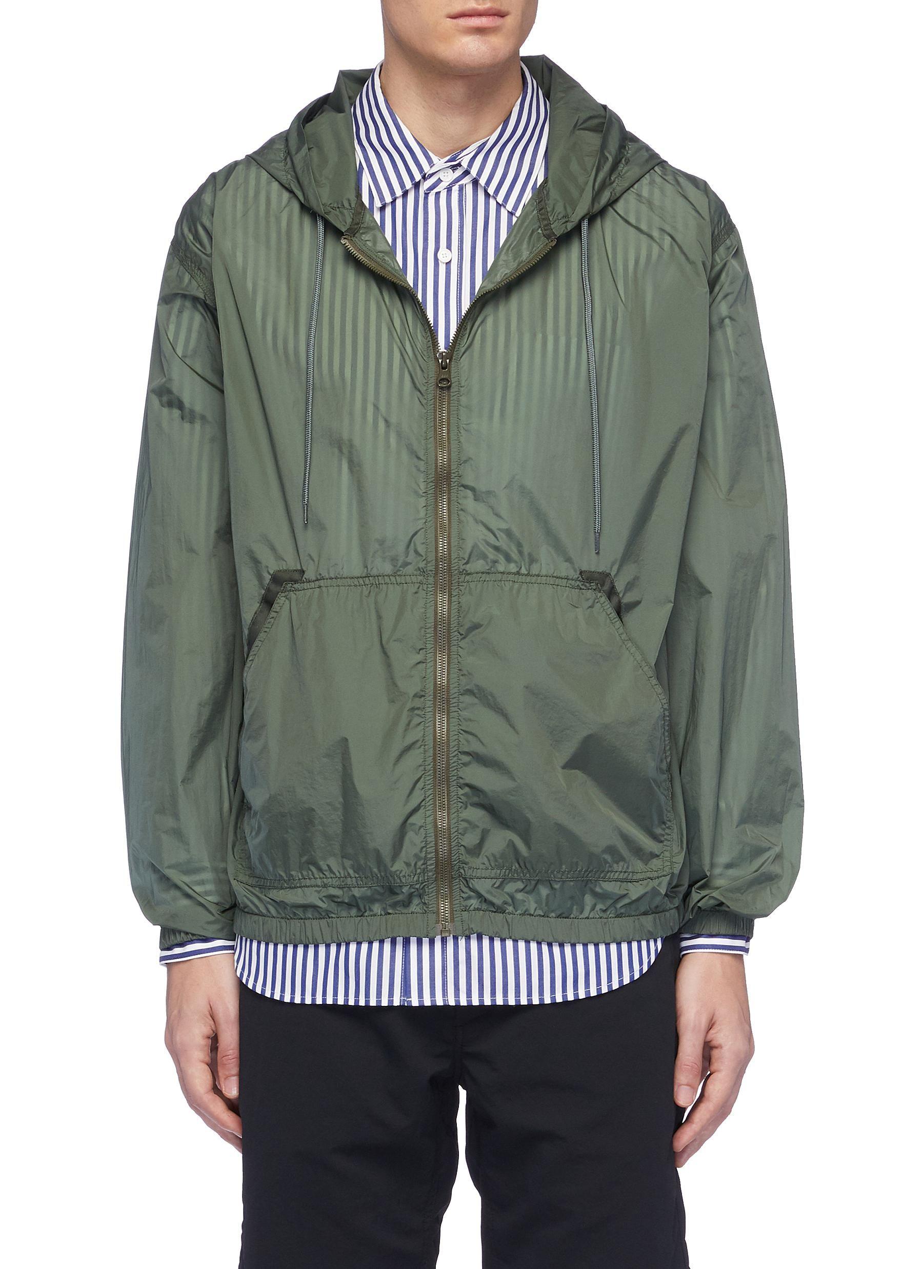 b75b49e71178 NANAMICA 'Cruiser' packable hooded jacket. #nanamica #cloth ...