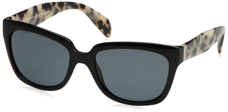 Prada Sunglasses - PR07PS / Frame: Black Lens: Grey Gradient ...