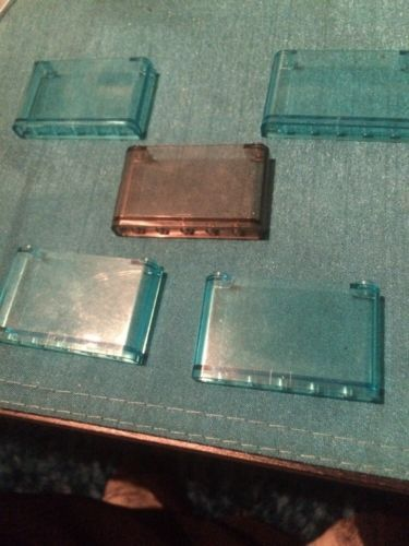5 x lego transparent #pieces genuine spare parts #window screen - view resume