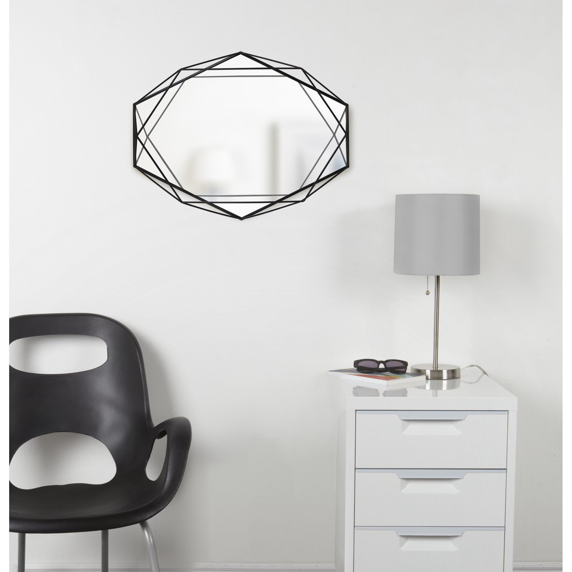 Prisma Modern And Contemporary Accent Mirror