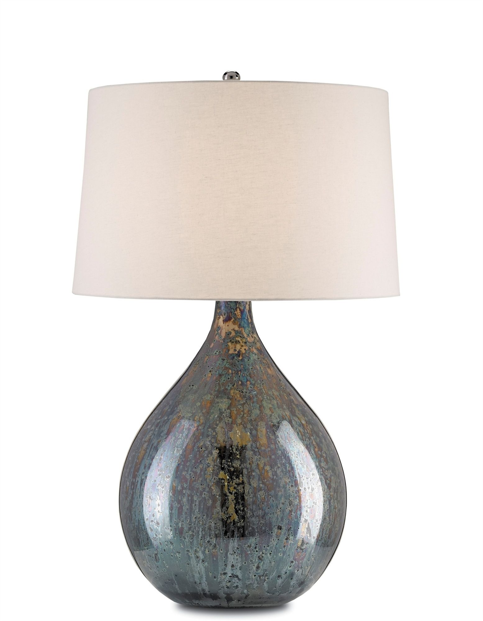 Blue Mercury Glass Lamp Mecox Interiordesign Home Decor Mercury Glass Lamp Mercury Glass Table Lamp Table Lamp