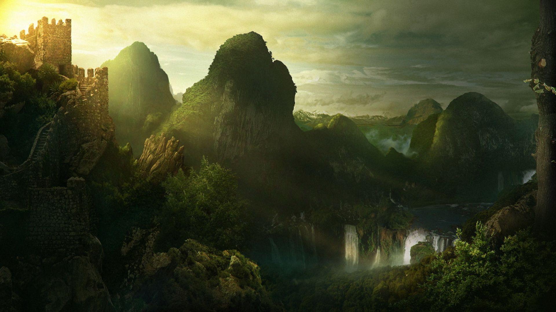 Epicmusicvn Wallpaper Fantasy Landscape Landscape Wallpaper
