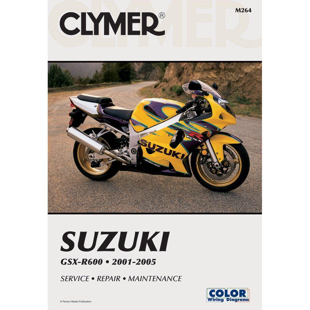 Clymer Suzuki GSX-R600 (2001-2005)