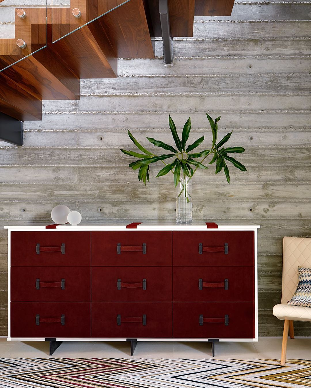 Adam Hunter On Instagram Oxblood Suede By Trevortondro With Images Luxe Interiors Interior Los Angeles Interior Design