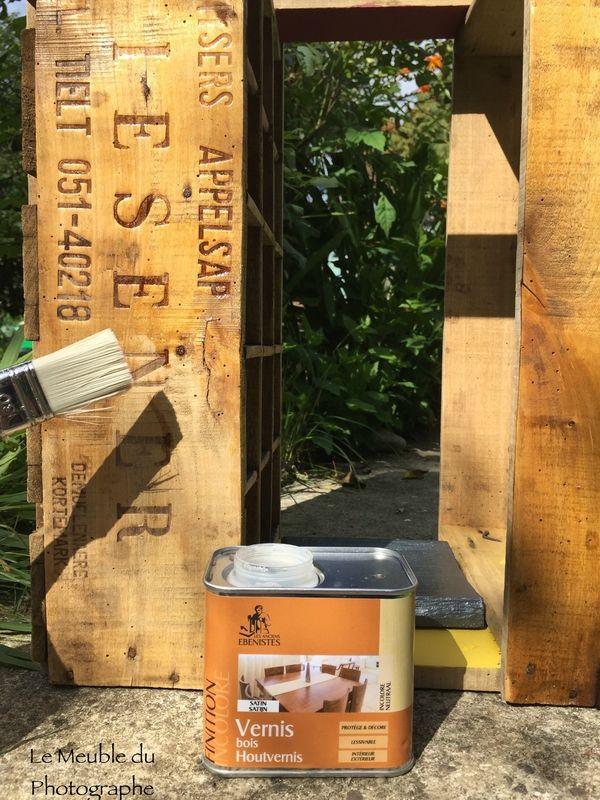 vernir une caisse en bois caisses en bois mes réalisations