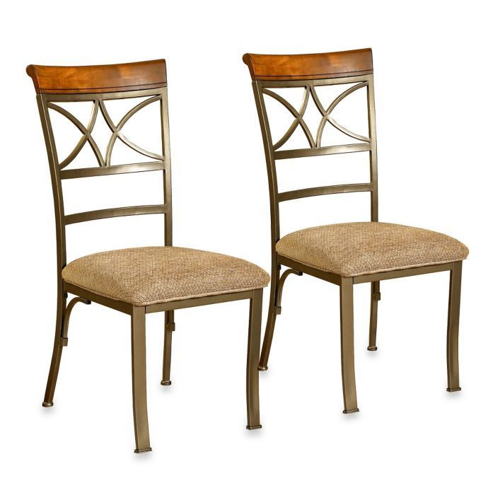 Peachy Powell Hamilton Dining Chairs Set Of 2 Bed Bath Beyond Gmtry Best Dining Table And Chair Ideas Images Gmtryco