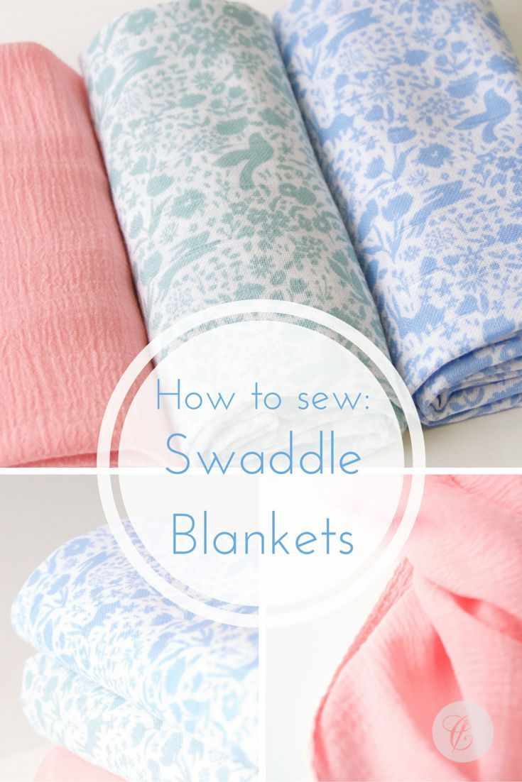 How To Guide For Making Swaddle Blankets Diy Baby
