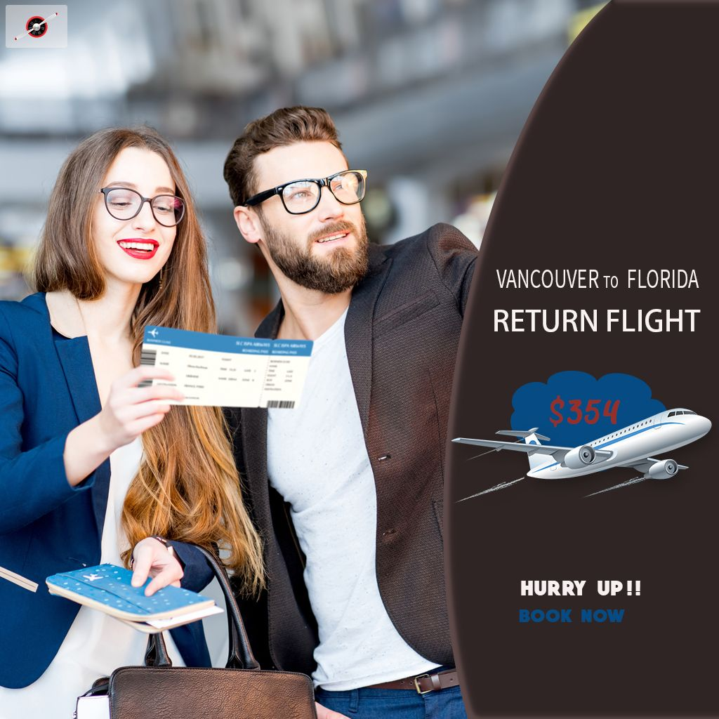 Book Return Flight Ticket from Vancouver Florida Fares