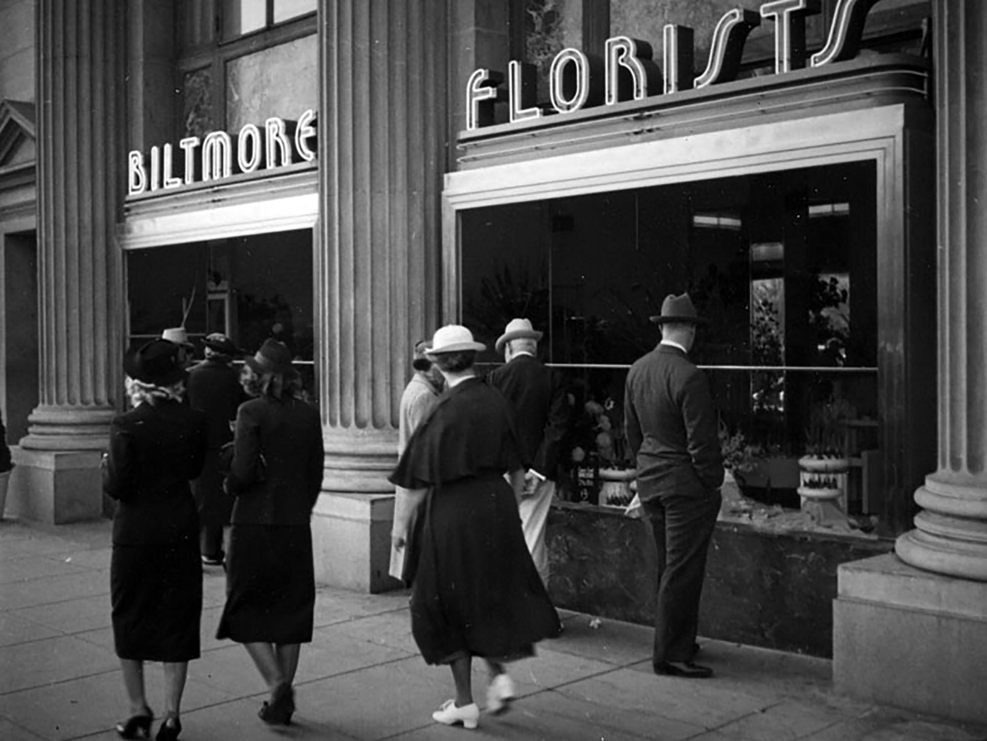 Flower Los Angeles Biltmore Hotel In 1937