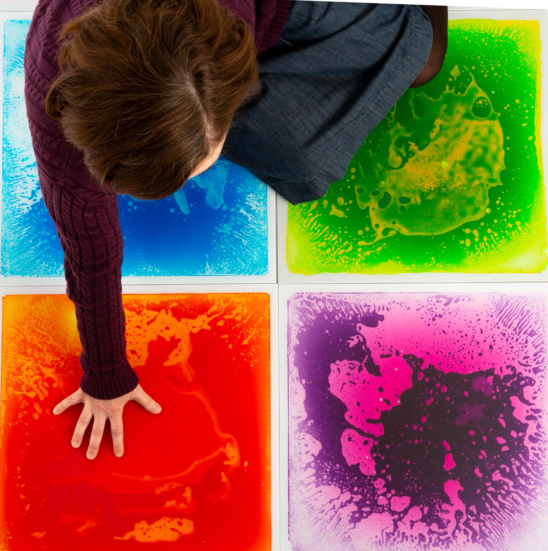 Gel Floor Tiles Toddler Activities Sensory Activities Sensory