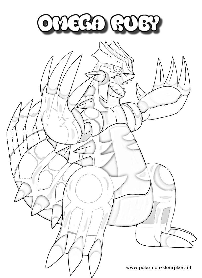 Primal Groudon Coloring Page By Jpijl On Deviantart Pokemon Coloring Pages Pokemon Coloring Pikachu Coloring Page