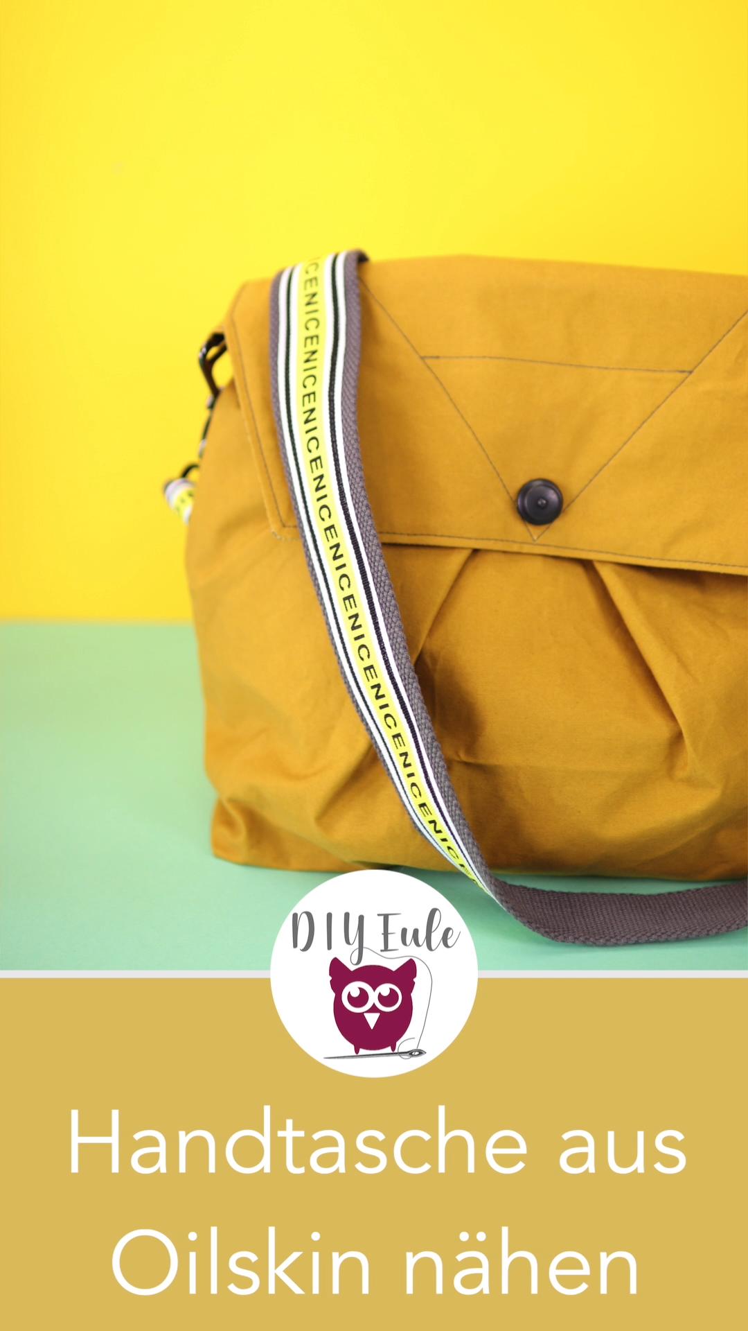 Handtasche nähen mit kostenlosem Schnittmuster #bag