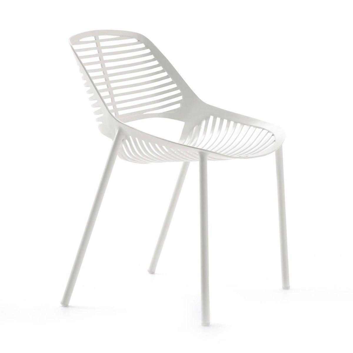 Weishäupl - Niwa Gartenstuhl - weiß   Concourse Furniture ...