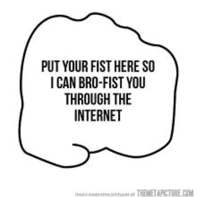 Pewdiepie BROFIST MEH HEH like if you wanna bro fist through the net