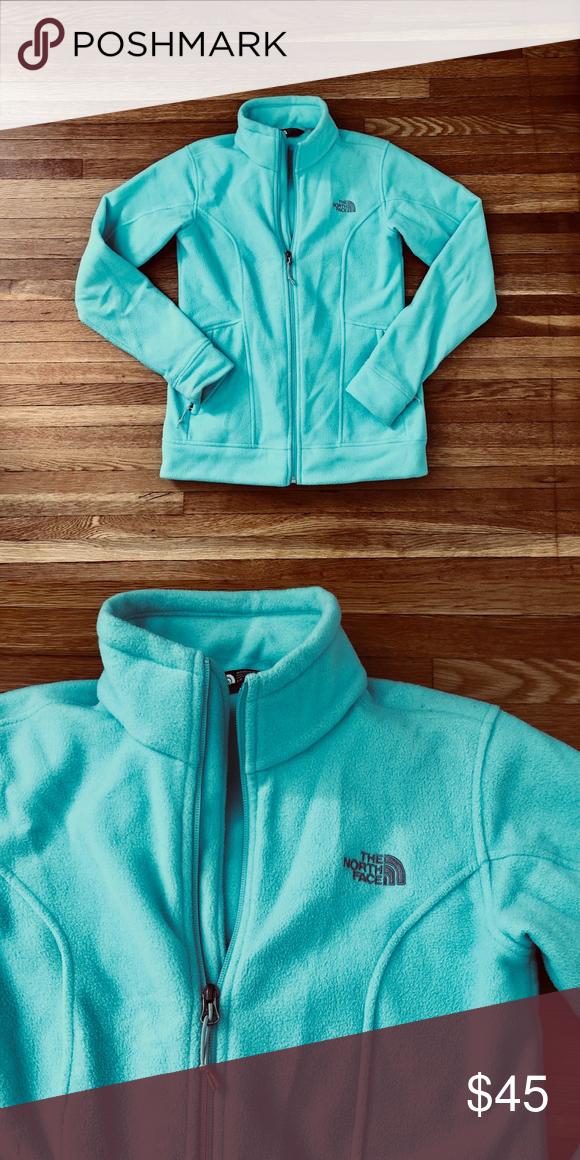 de8234028 North Face women's fleece jacket Authentic North Face fleece full ...