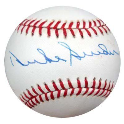 Duke Snider Autographed NL Baseball PSA/DNA #M55649 . $59.00. This is an Official National League Baseball that has been signed by Duke Snider. The autograph has been certified authentic by PSA/DNA and comes with their sticker and matching certificate.