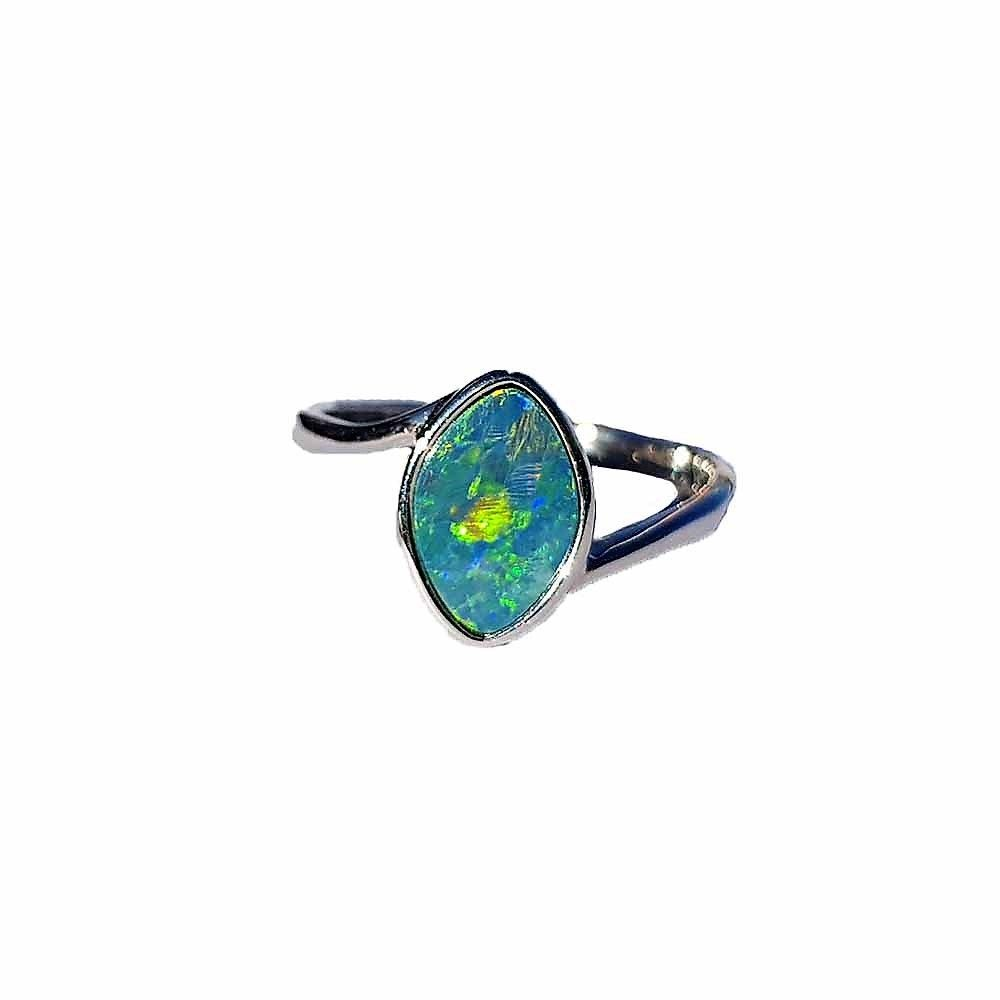 Loved By Many Opals Are A Favorite For All They Add A Touch Of Femininity And Delicacy To How Silver Opal Ring Australian Opal Ring Sterling Silver Opal Ring