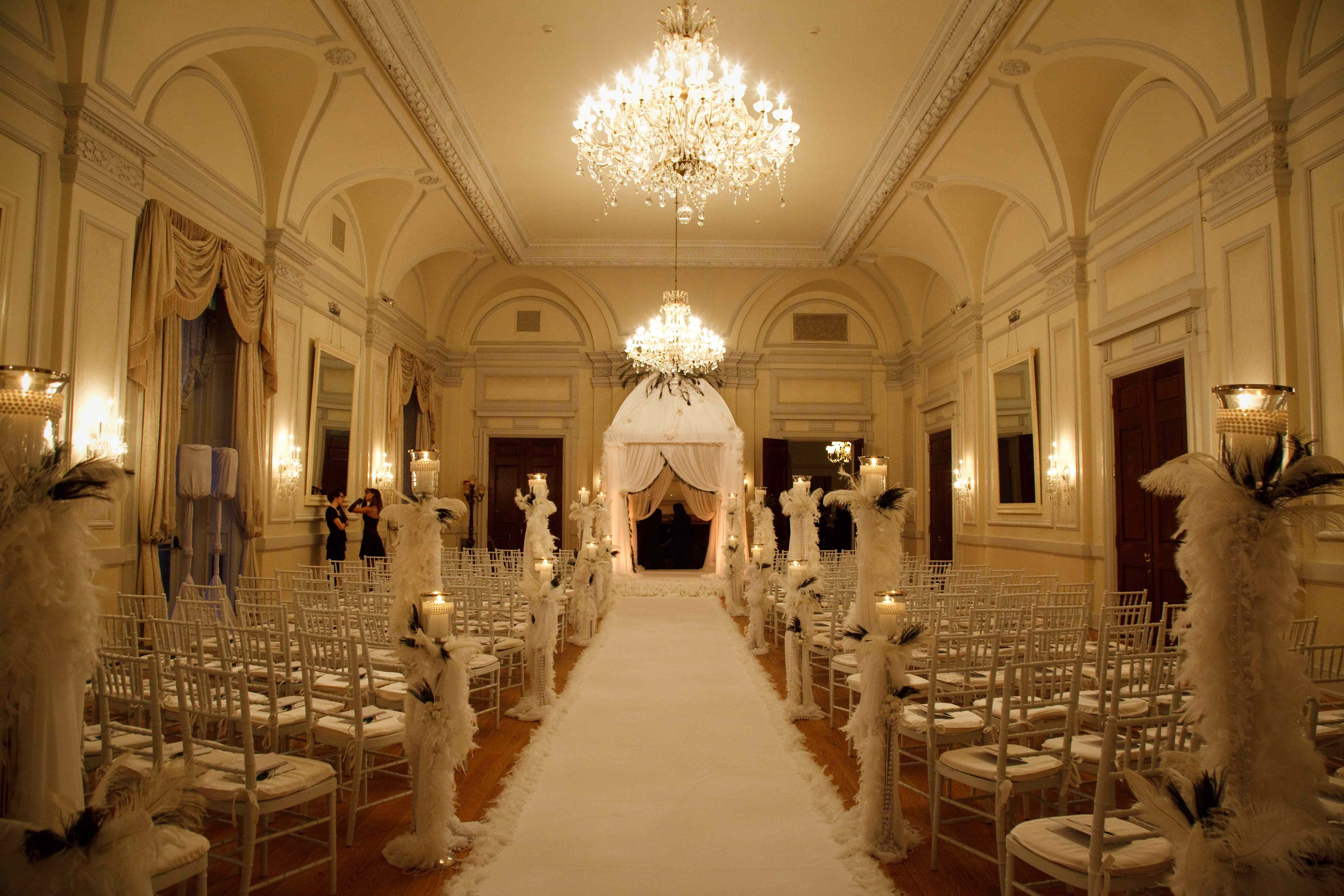 Luxury Wedding Indoor: Indoor Ceremony - Grand Ballroom