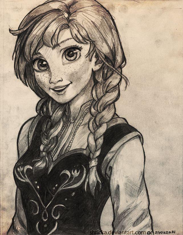 Anna - Do You Want To Build A Snowman? by Shricka on deviantART